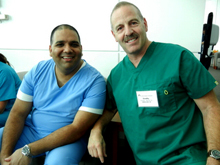 Dr. Speciale with Dr. Sajid Surve